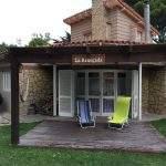 Deck patio casa
