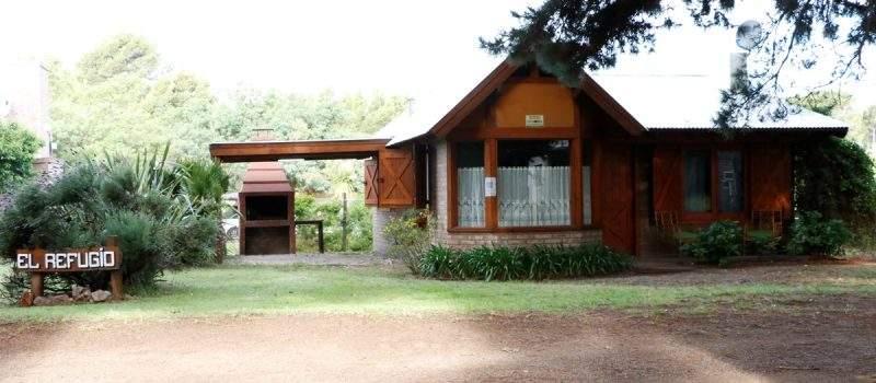 Cabaña El Refugio en Pehuen Có Buenos Aires Argentina