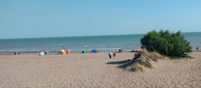 Vista Al Mar Camping Bosque Encantado Pehuen Co Buenos Aires